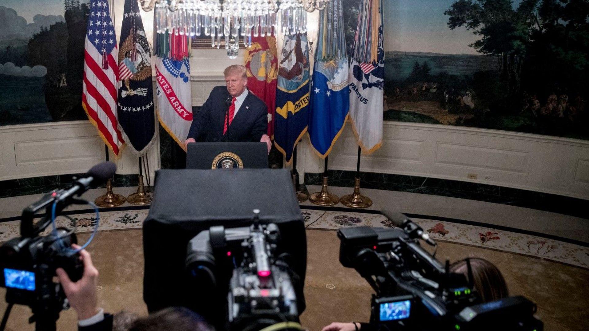 Тръмп потвърди гибелта на лидера на ИДИЛ: Ал Багдади се е самовзривил с три от децата си