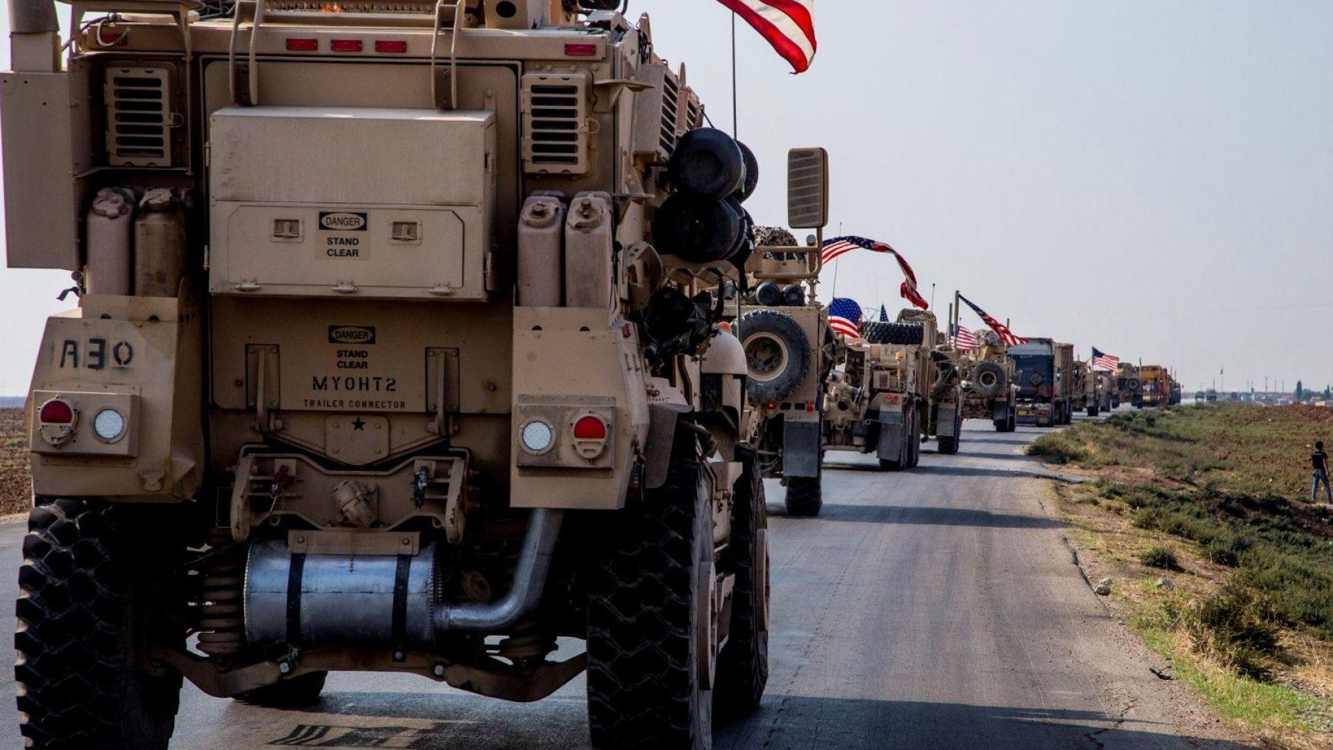 Тръмп разреши спорна военна мисия за охрана на петролни находища в Източна Сирия
