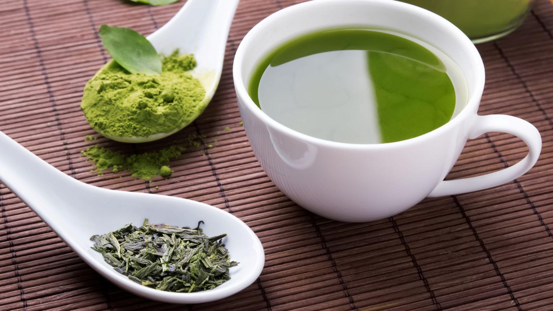 Зеленият чай е ефикасен в борбата  с опасни  болести
