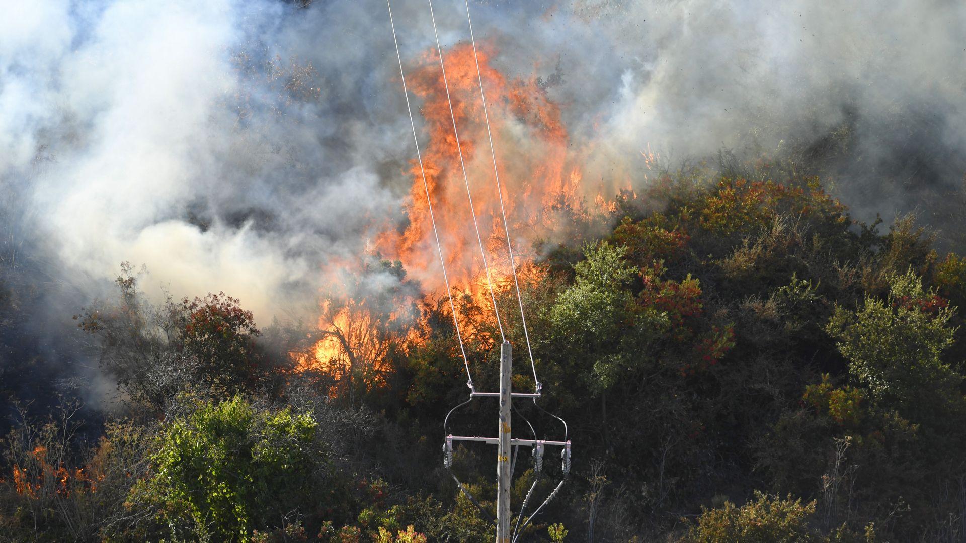 Няма данни за пострадали българи при пожарите в Калифорния