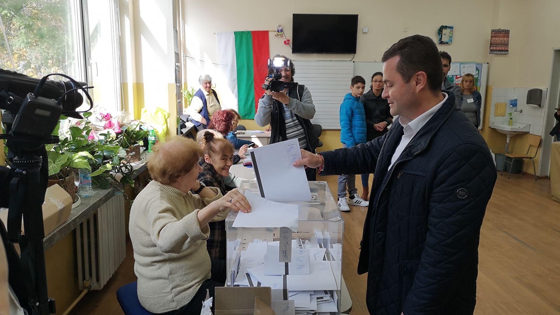 Кандидатите за кмет на Русе Пенчо Милков, издигнат от местната