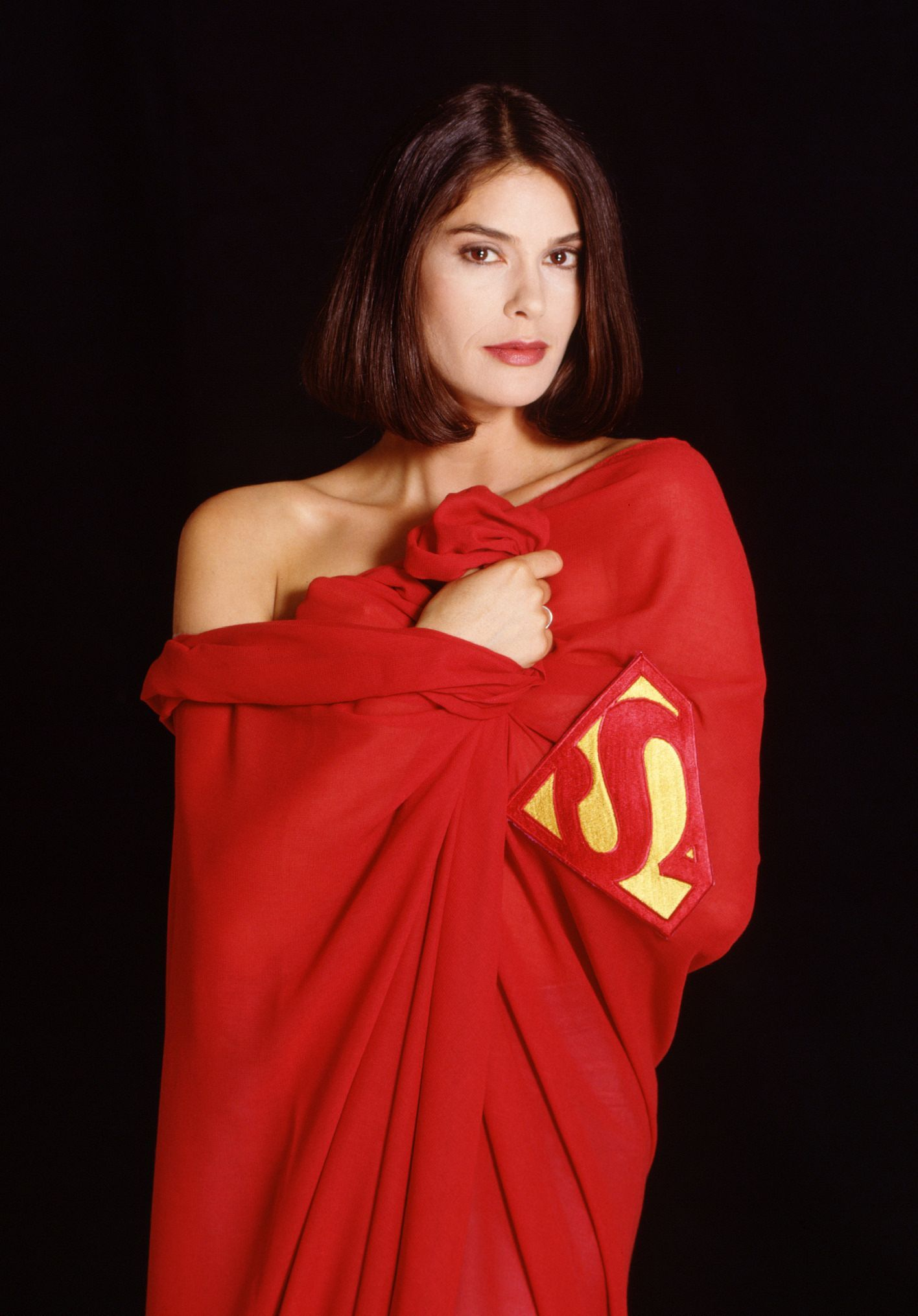 Емблематичната снимка на Тери от 90-те с наметалото на Супермен