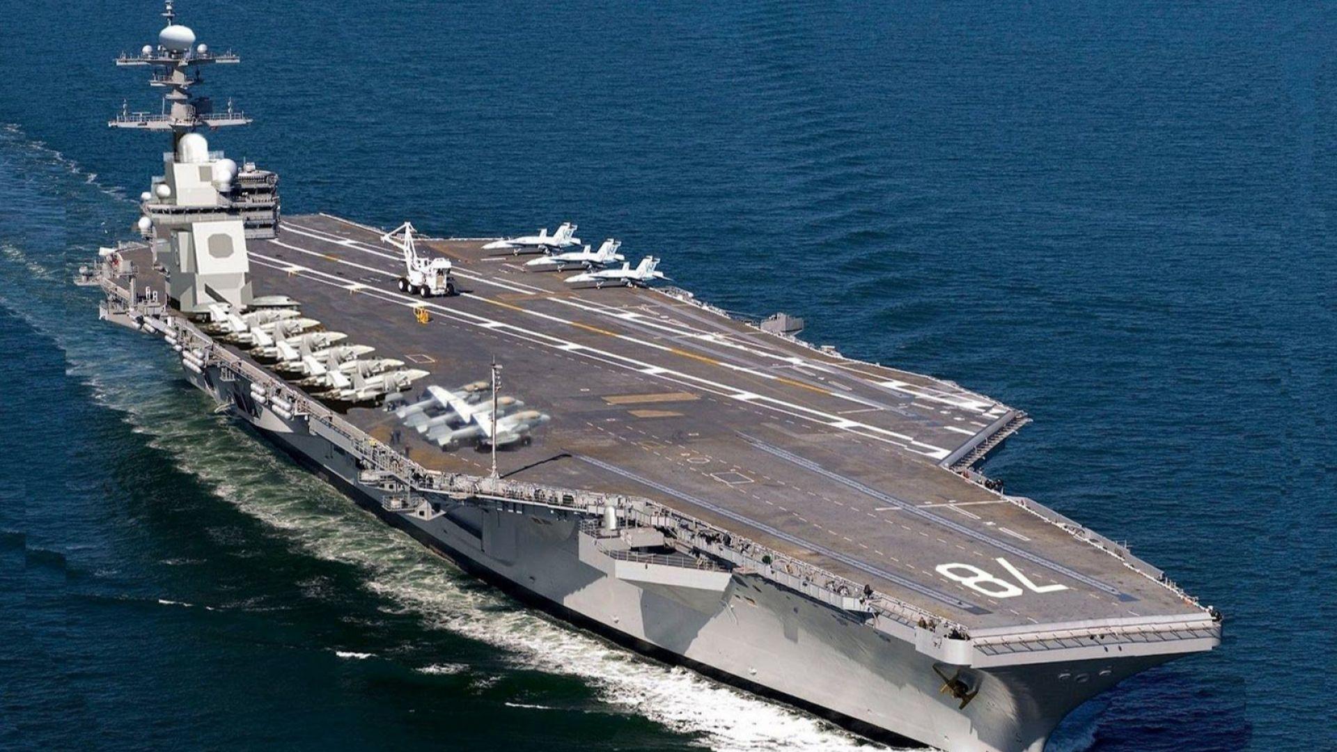 """USS """"Джералд Форд"""""""