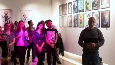 DOZA изкуство в София: Фобиите са на мода