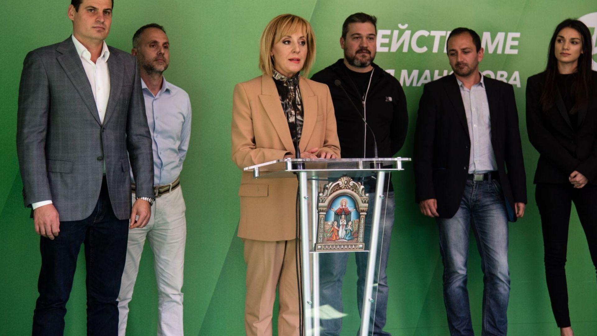 Мая Манолова: Подкрепям всички районни кметове, които са на балотаж срещу ГЕРБ