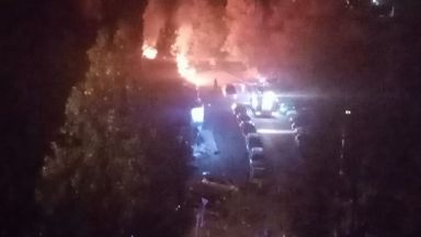11 коли са опожарени тази нощ в София (снимки)
