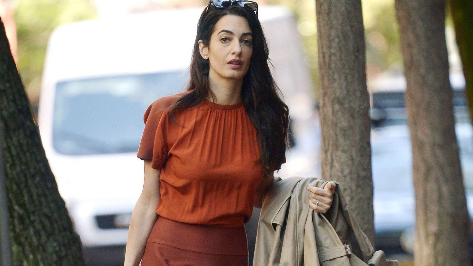 Амал Клуни – повелителката на есенната мода в Ню Йорк