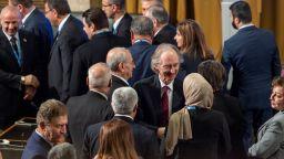 Комисията за изготвяне на нова сирийска конституция се събра на историческо първо заседание