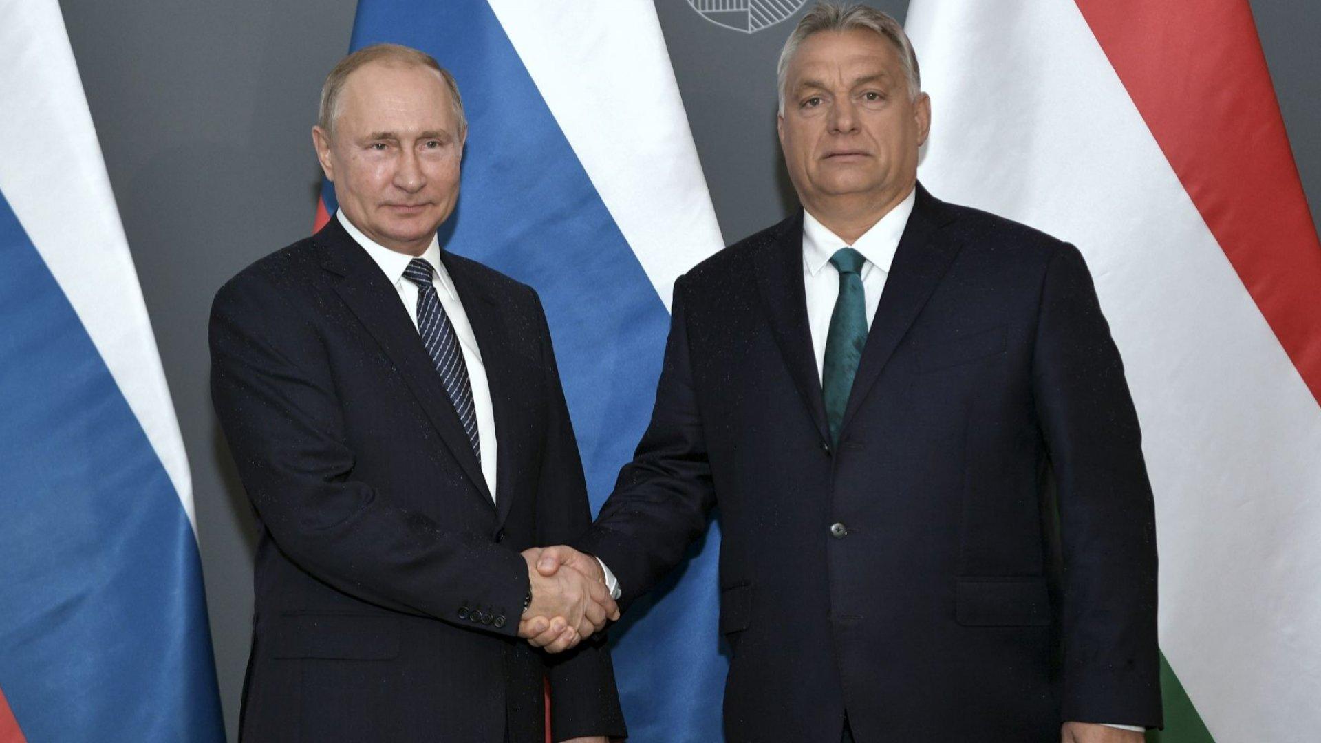 "Путин: Унгария е ""Добре дошла"" в ""Турски поток"""