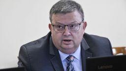 ГЕРБ и ОП предлагат Сотир Цацаров за председател на Антикорупционната комисия