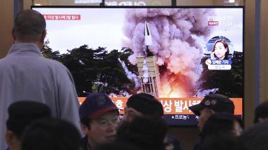 Северна Корея изстреля поне една балистична ракета