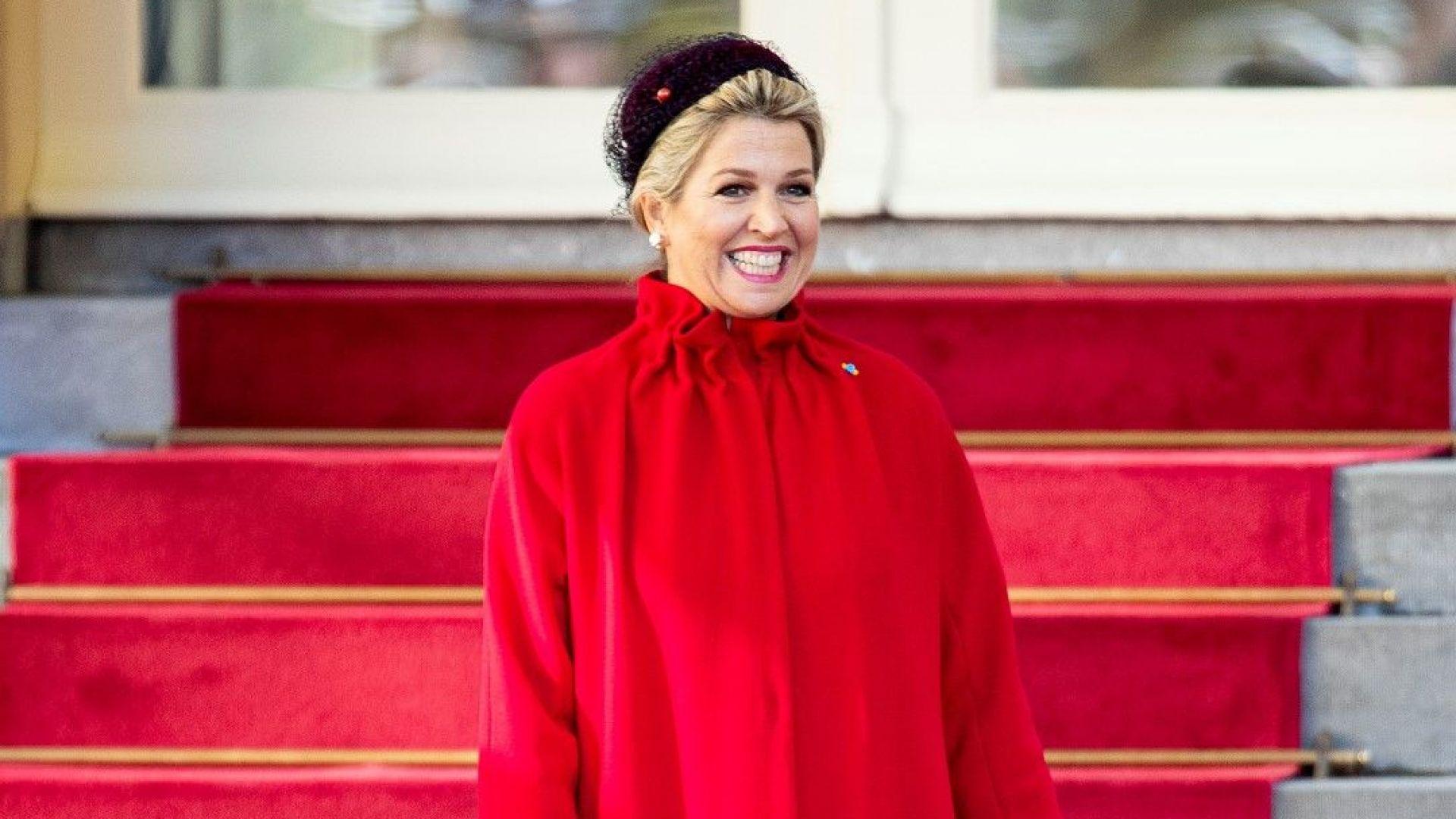 Максима посрещна полския президент и съпругата му като червената шапчица