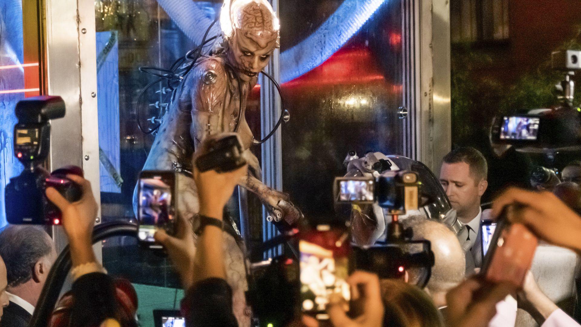 Вижте парада за Хелоуин в Ню Йорк (снимки и видео)
