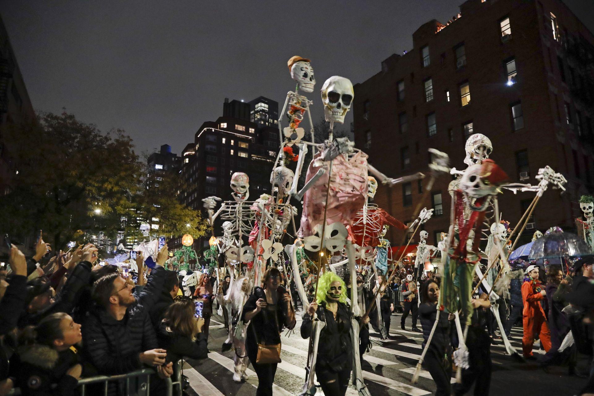 В Ню Йорк се проведе 46-ият парад за Хелоуин