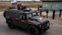 Турция и Русия започнаха първите си съвместни патрули в Сирия