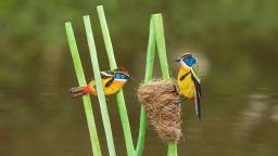 Сладки миниатюрни животни от хартия