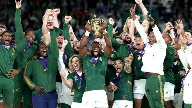 Южна Африка стъпи на световния ръгби връх