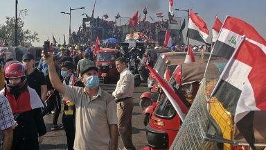 Нови сблъсъци избухнаха в Багдад, един убит и десетки са ранени
