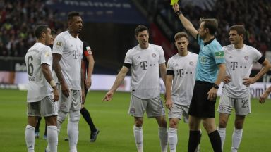 Байерн отнесе срамни пет гола в Бундеслигата