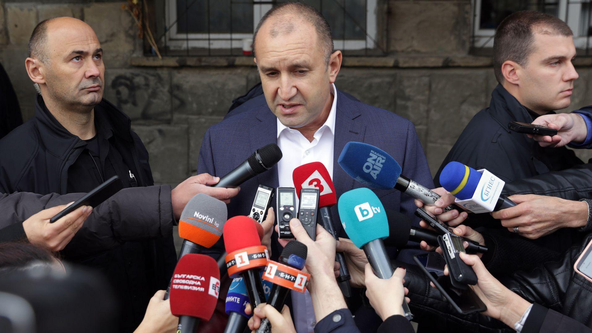 Радев предупреди Макрон, че няма да стане европейски лидер с чертаене на разделителни линии