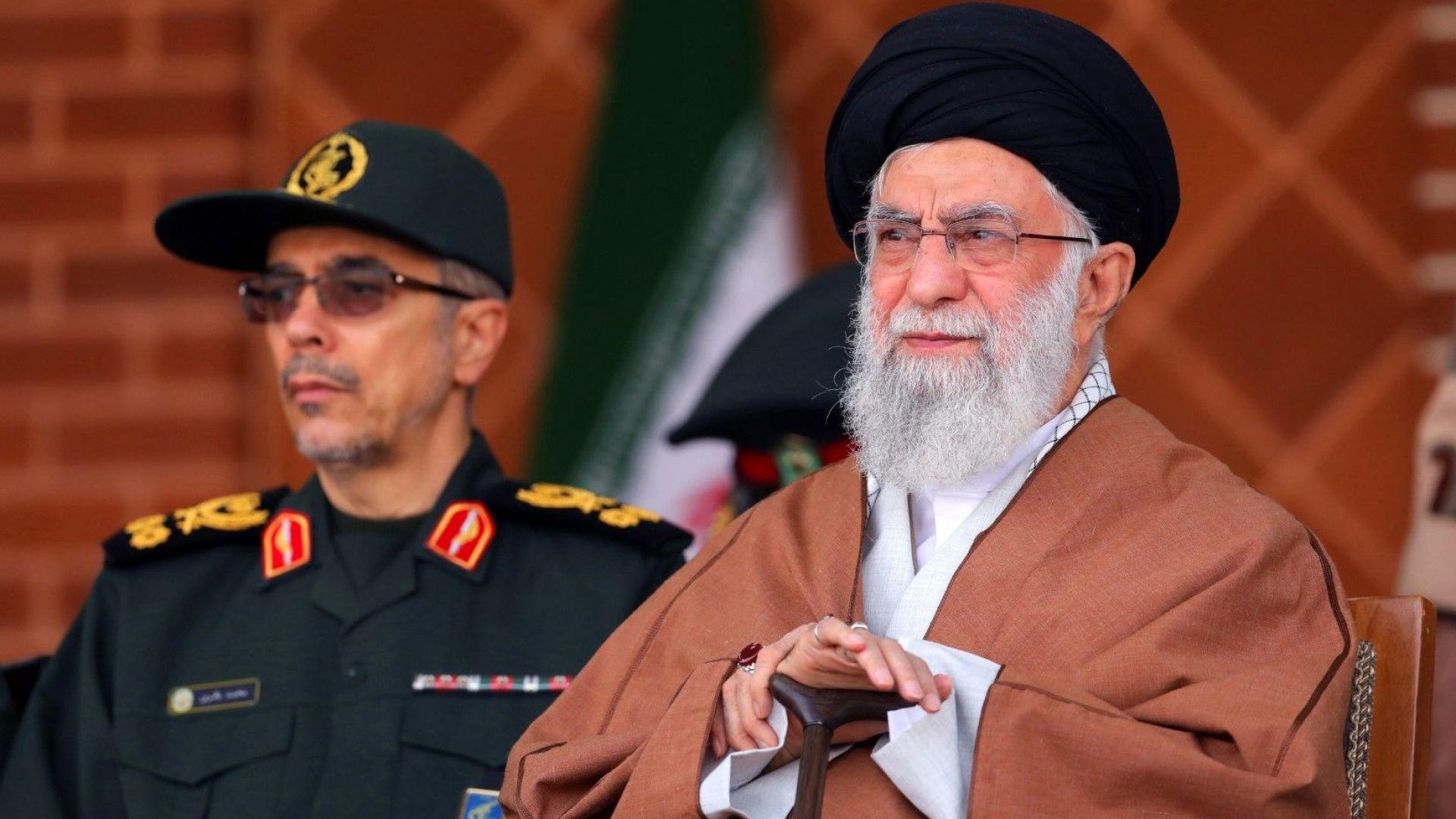 Върховният лидер на Иран произнесе днес реч по повод навършващите