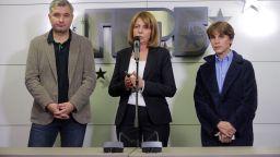 Първо заседание на общинарите в София, Фандъкова полага клетва
