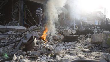 29 възрастни и 11 деца загинаха при атака с цистерна с експлозиви в Сирия (видео)