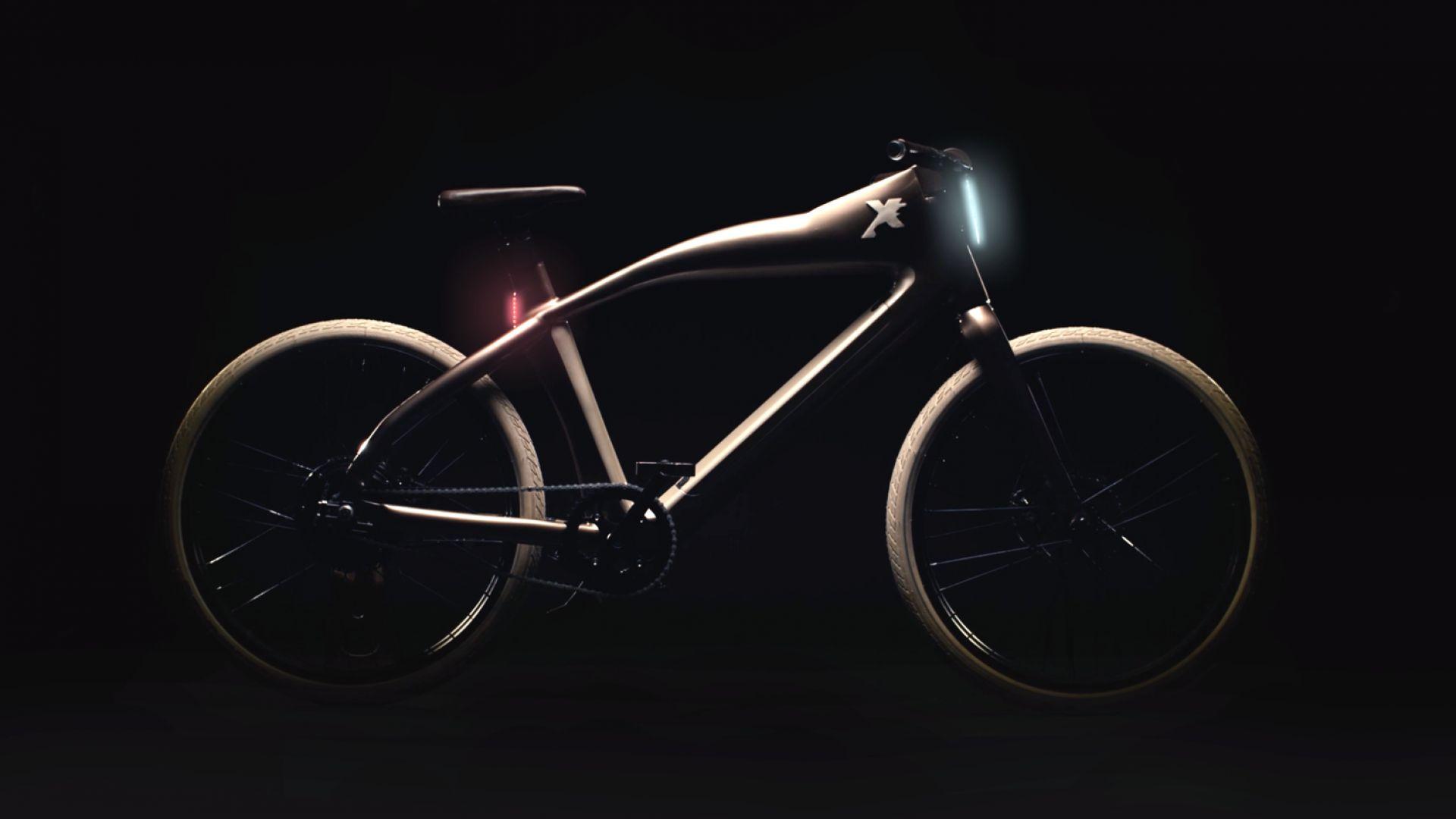 Електрически велосипед разпознава лица