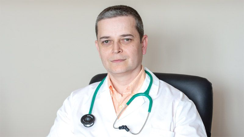 Д-р Мирослав Спасов, общопрактикуващ лекар, XIV ДКЦ, София