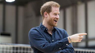 Принц Хари има най-хубавата усмивка сред младите в кралското семейство