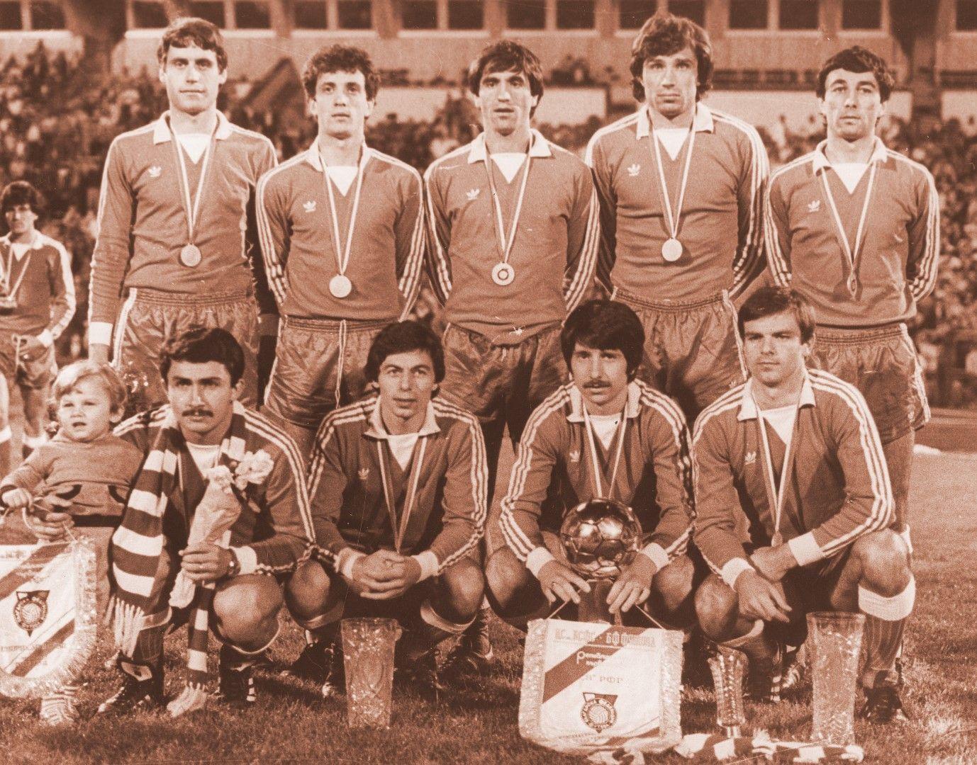 Шампион с ЦСКА като футболист