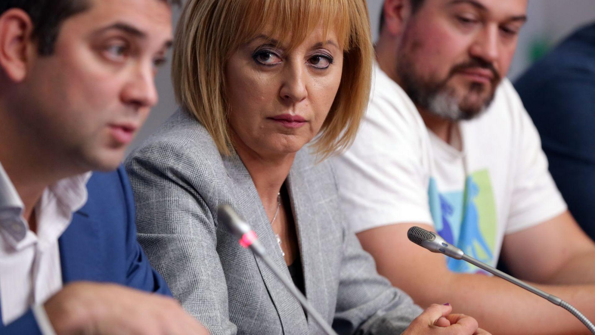 Готова е исковата молба на Мая Манолова срещу Бойко Борисов