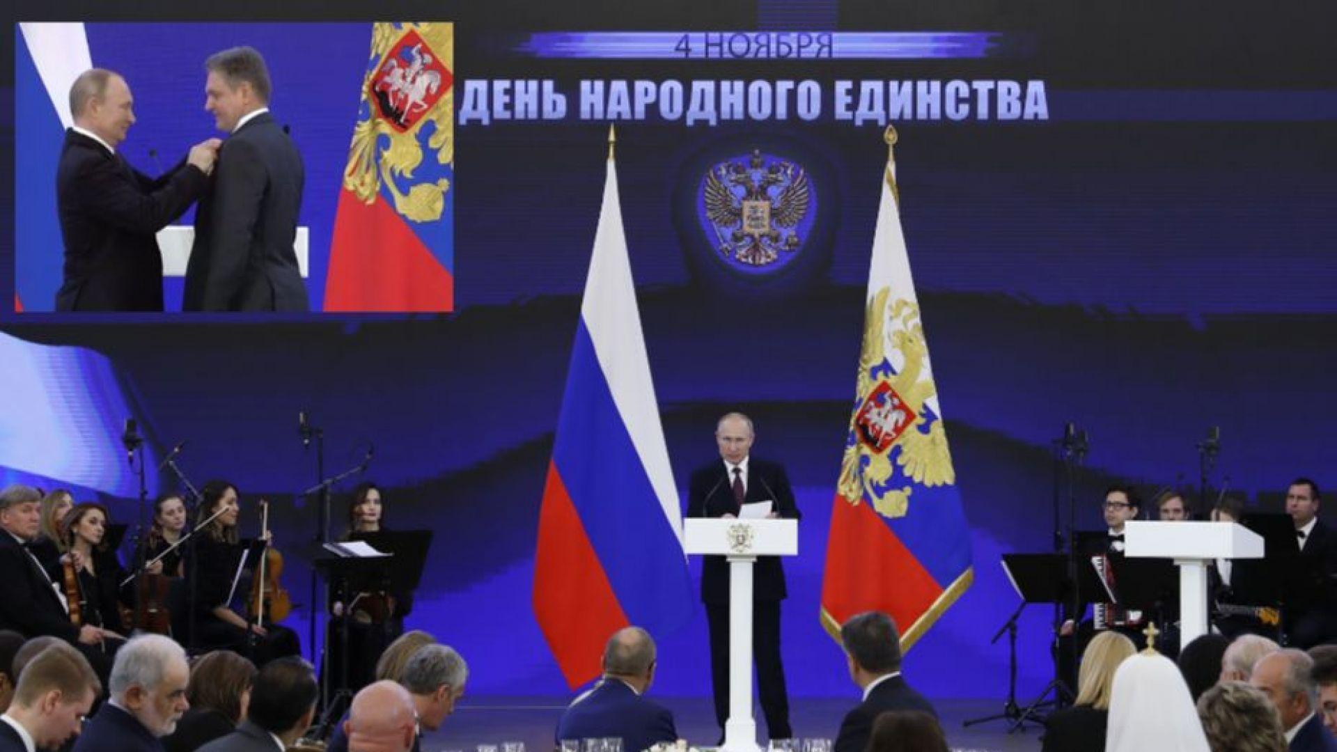 Малинов: За щастие, говорих 5-6 минути с Путин, ще се върна в България (видео)