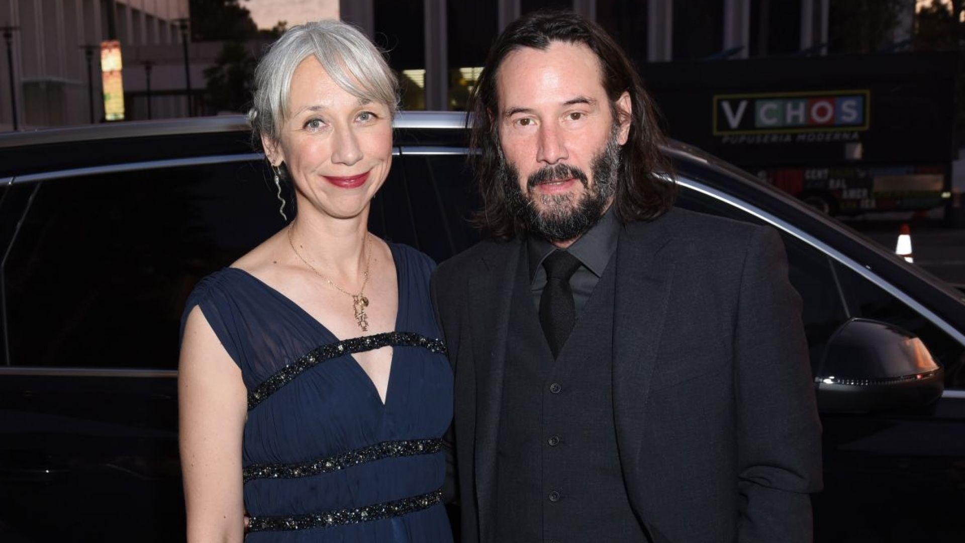 След 20 години Киану Рийвс за първи път с жена на гала