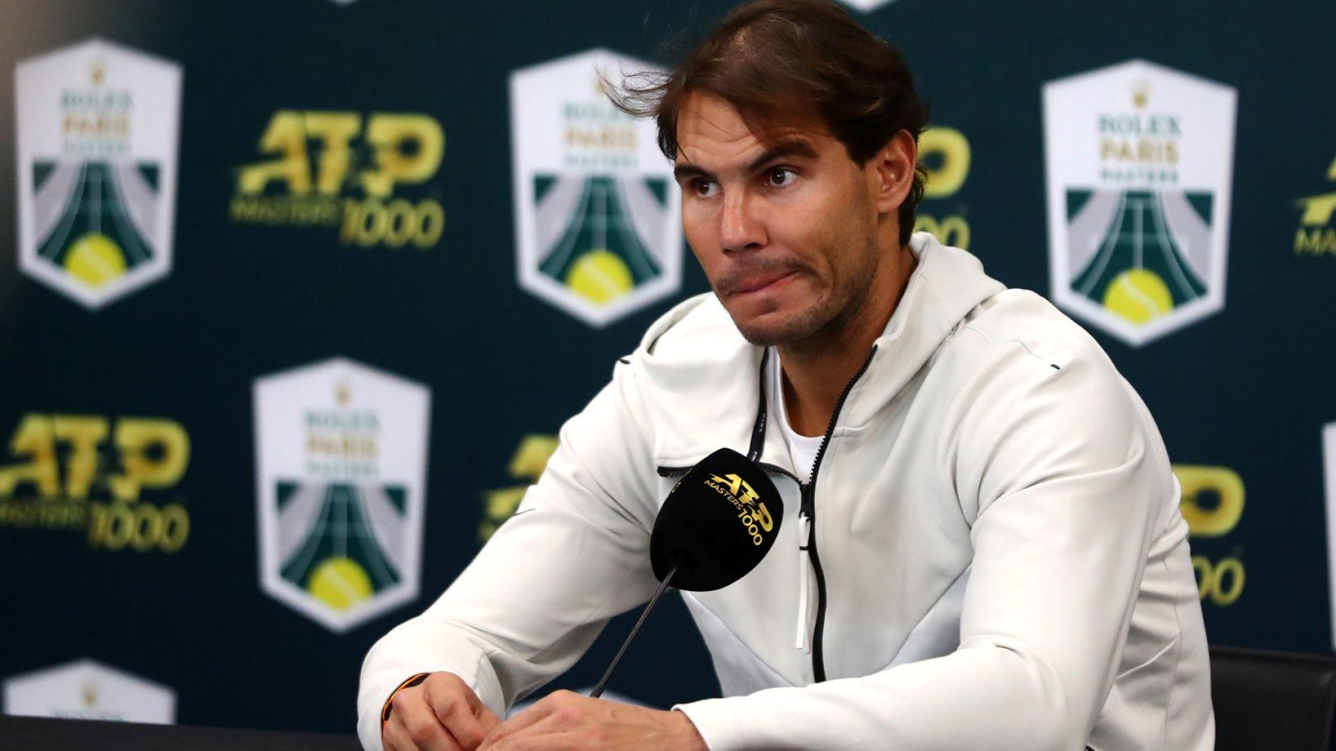 Надал се присъедини към песимистичната прогноза за тениса