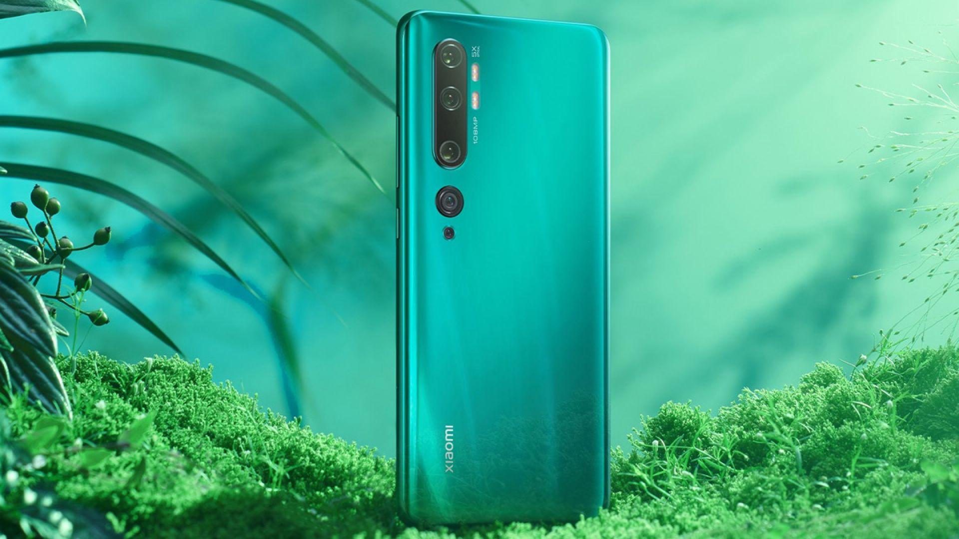 Xiaomi показа флагман с 108-мегапикселова камера