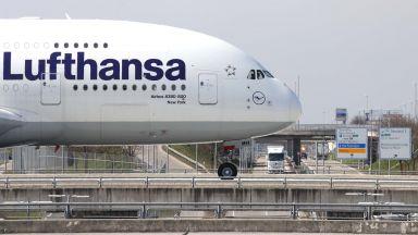 """""""Луфтханза"""" отлага решението за правителствена помощ от 9 млрд. евро"""