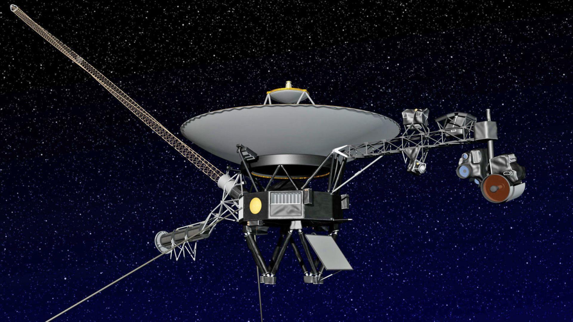 """""""Вояджър 2"""" изпрати данни от междузвездното пространство"""