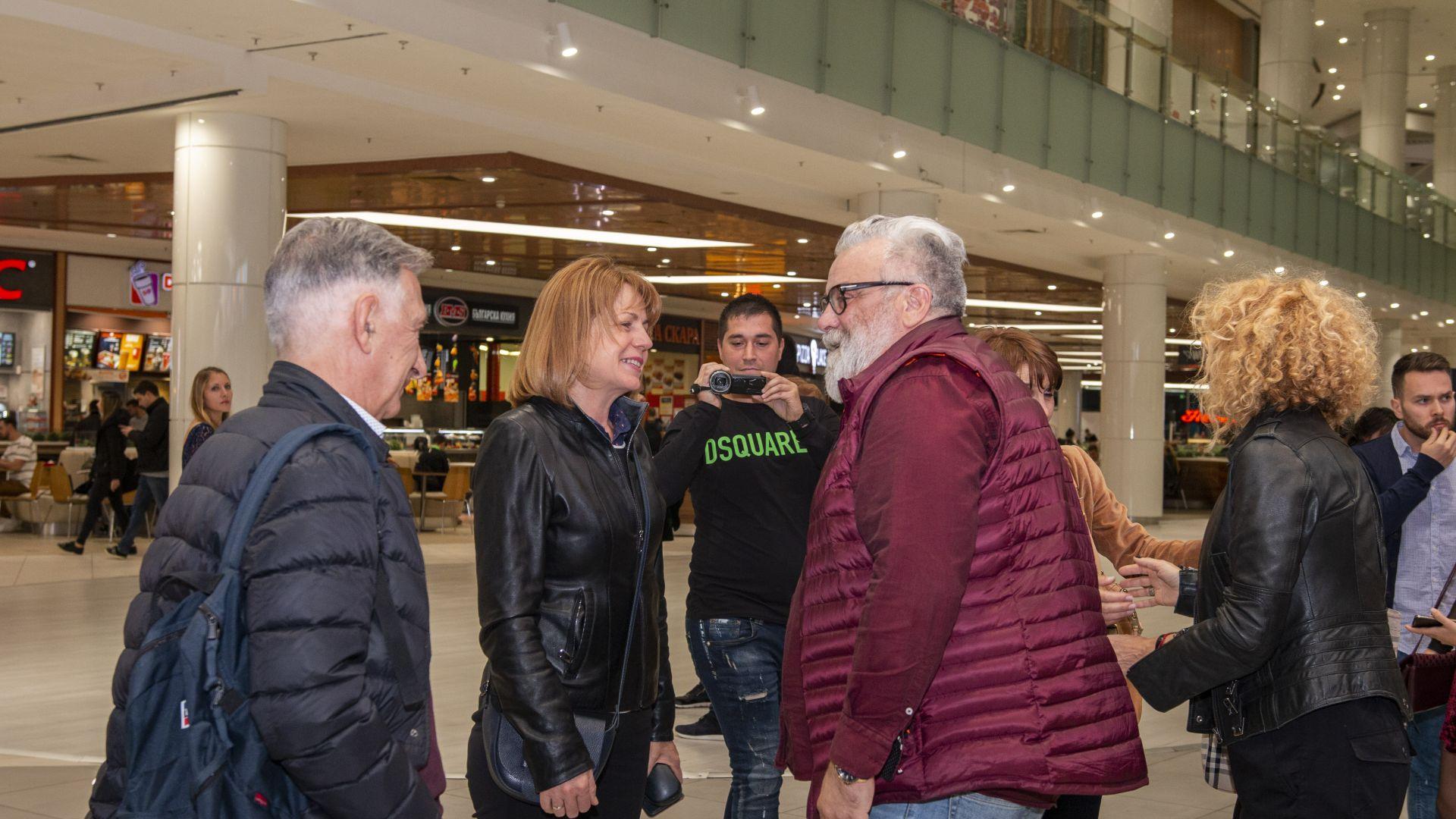 Йорданка Фандъкова и Владо Пенев