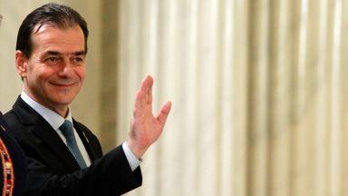 Глоба 2500 леи за румънския премиер - без маска и пуши