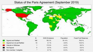 Кои страни са подписали и кои - ратифицирали Парижкото споразумение за климата