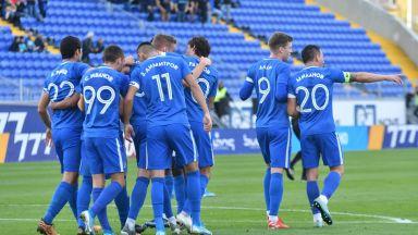 """""""Сините"""" с първа победа за годината, холандец дебютира с гол"""