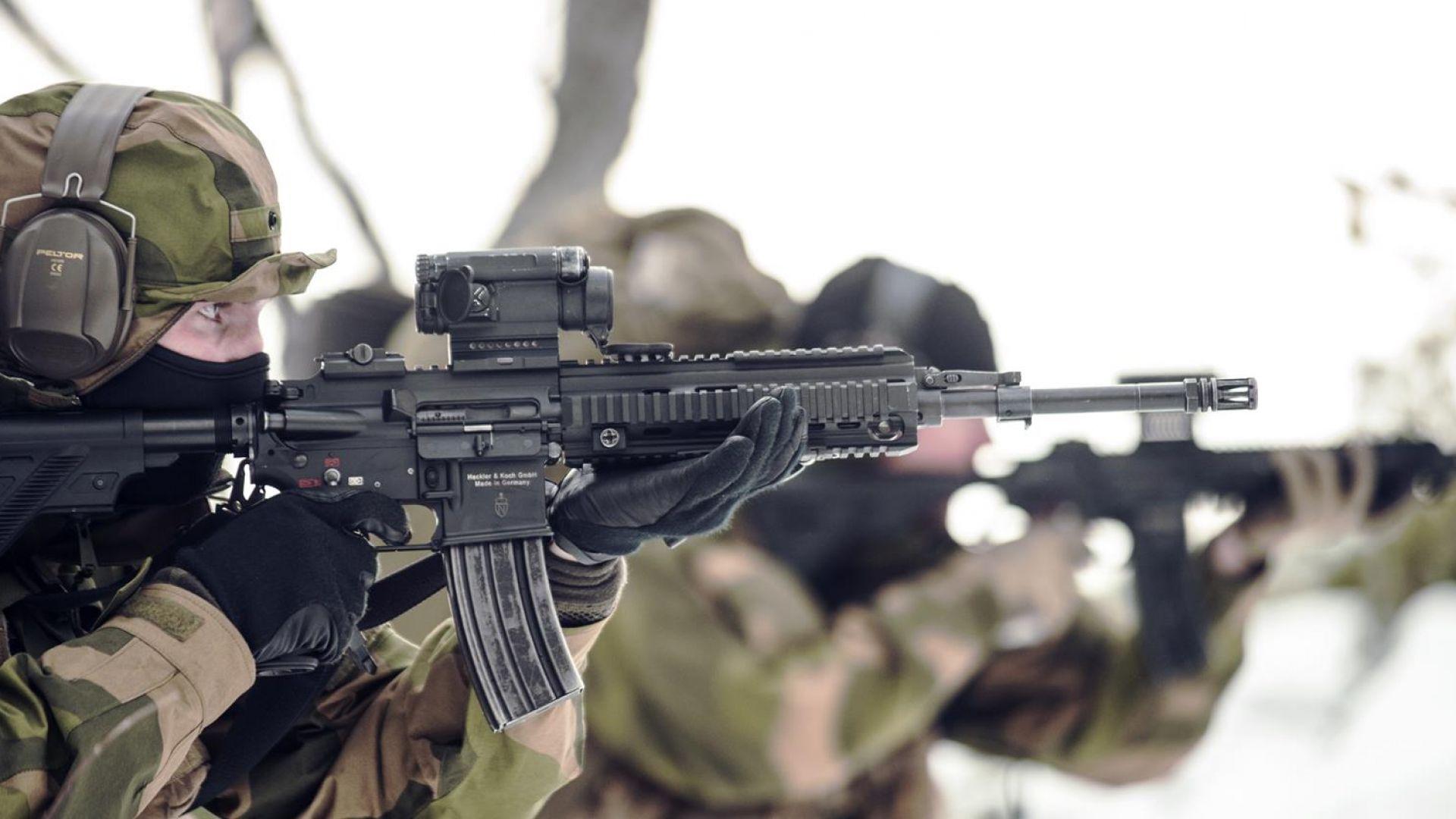"""Пушката, разработена специално за """"Делта Форс"""" (снимки)"""
