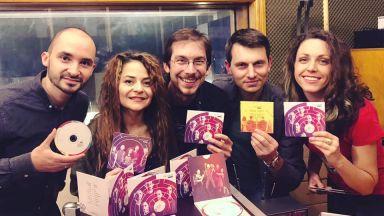 """Единствената българска акапелна група Spectrum Vocal Band представя албума си """"Пресечна точка"""""""