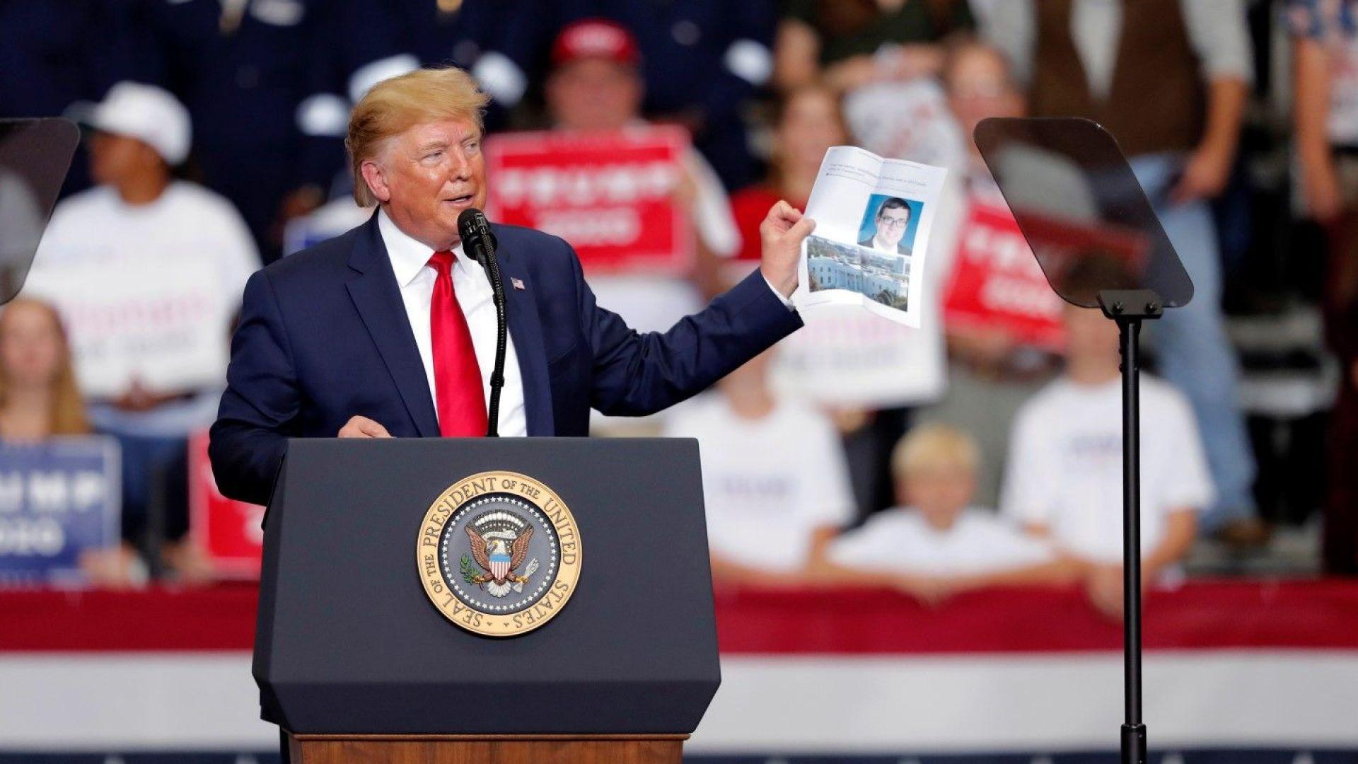 Тръмп: Действията за импийчмънт са опит за преврат