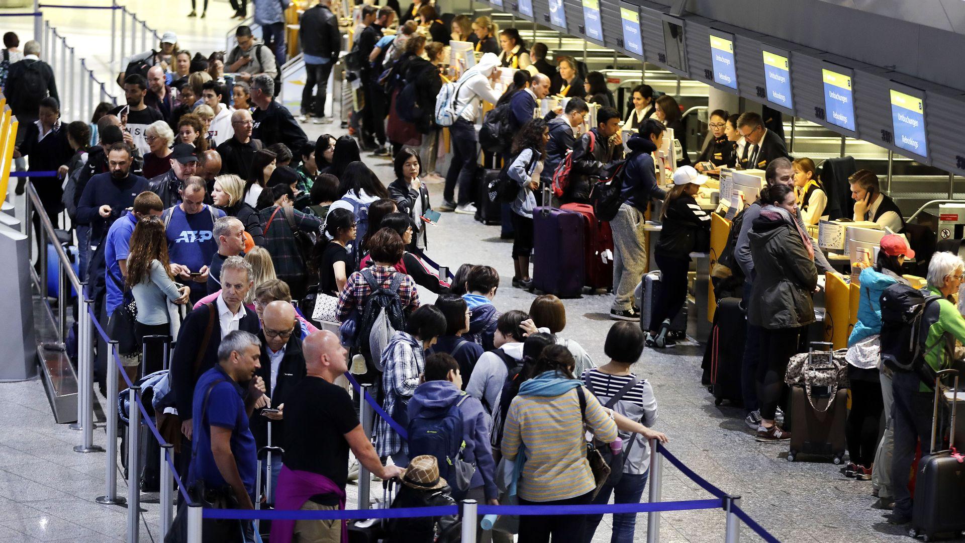 Нова стачка в Луфтханза пожали коледния туризъм