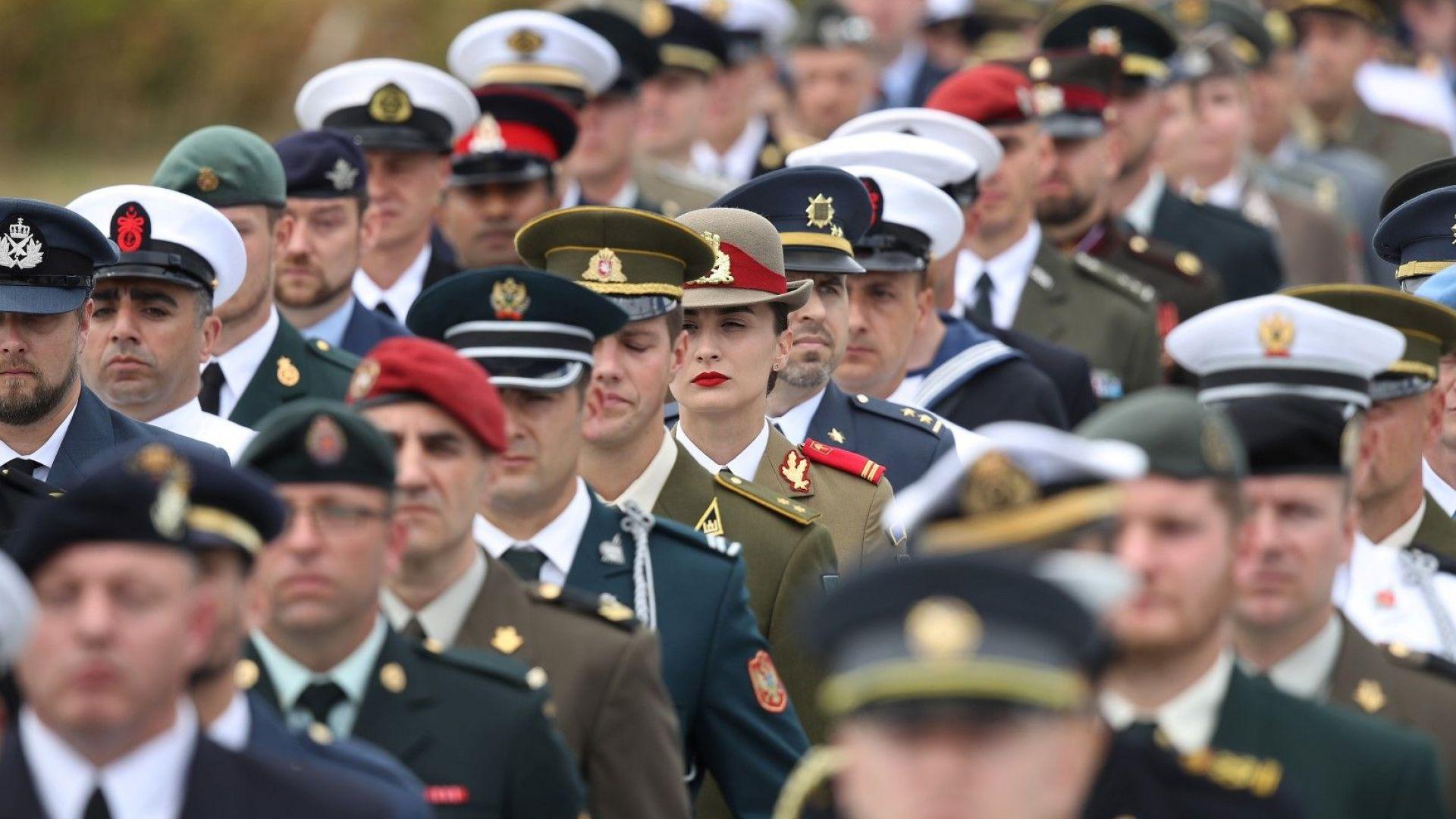Страните от НАТО се съгласиха САЩ да намали вноската си до 16.35%