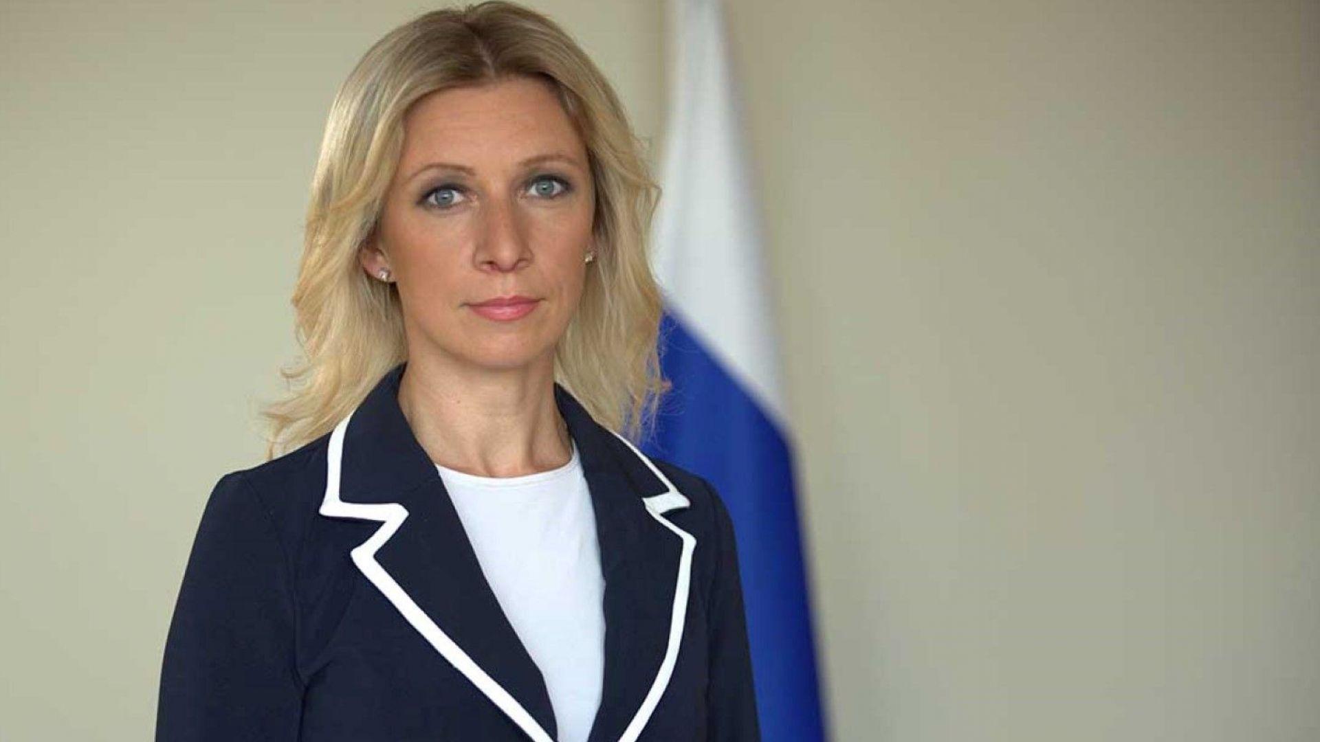 """Мария Захарова нарече """"златни"""" думите на Макрон за """"мозъчна смърт"""" на НАТО"""