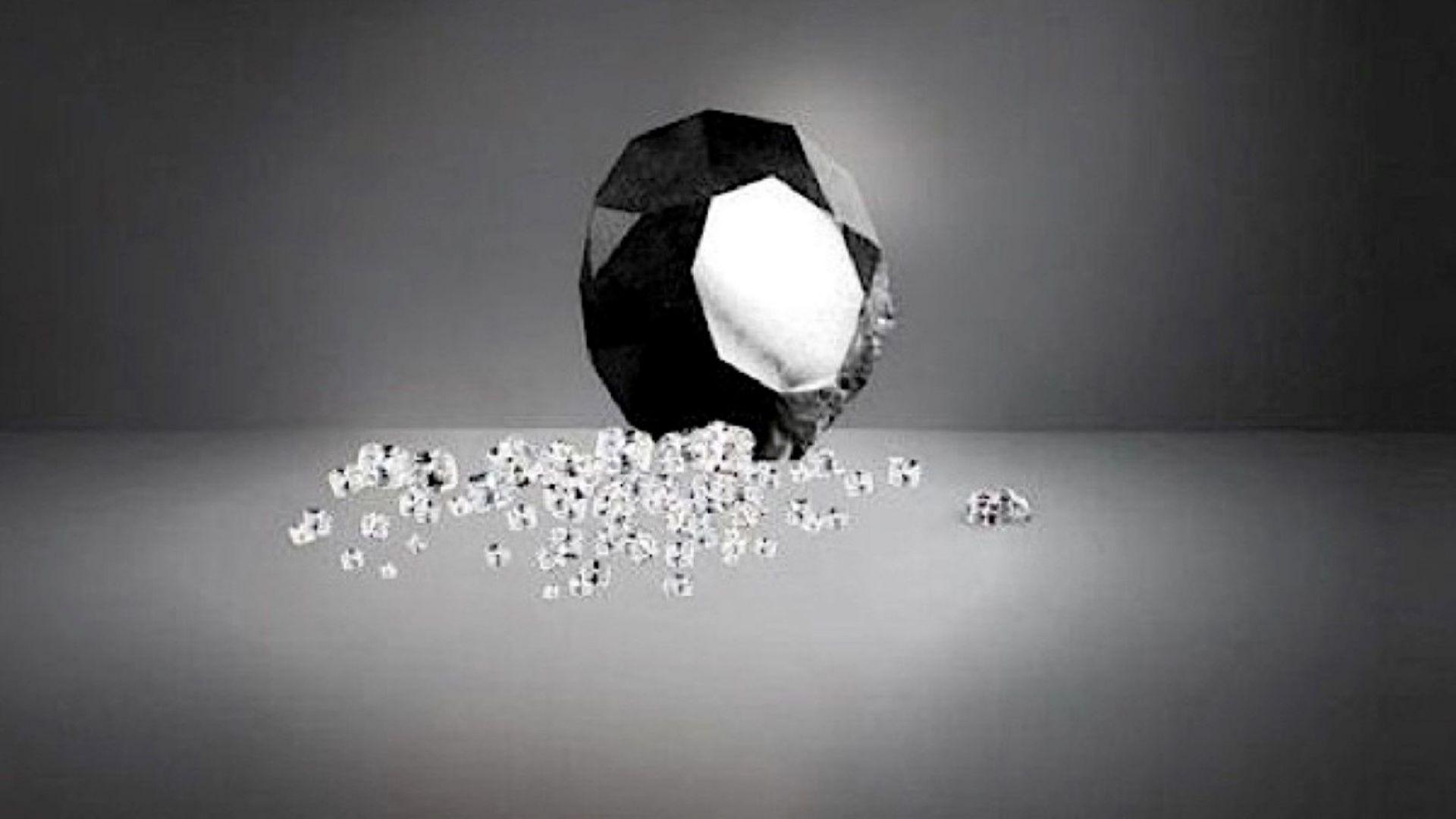 88 карата изящество: В Париж показаха най-големия черен диамант в света