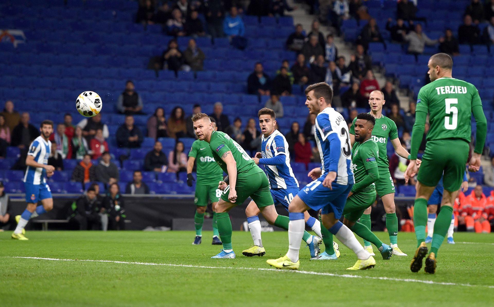 4-та минута, 1:0 с гол на Мелендо